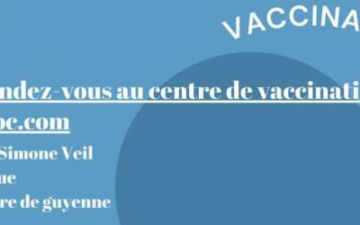 Vaccination Covid prise de rendez-vous